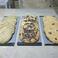 Matcha Cookie & White Chocolate, Chocolate Chip and the Raisin Oatmeal