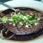 Pompano-Jack-fish-in-Alexander-sauce